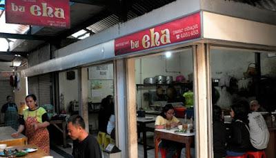 Warung Bu Eha -- Pasar Cihapit Bandung