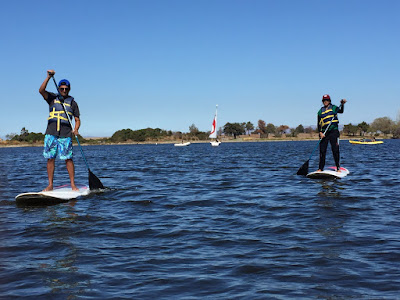 Je L'ai Dit: Stand-up Paddleboarding!