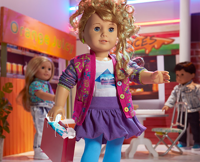 Promotional image of Courtney Moore at the Mall.