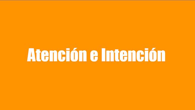 16.10915 características, atención e intención