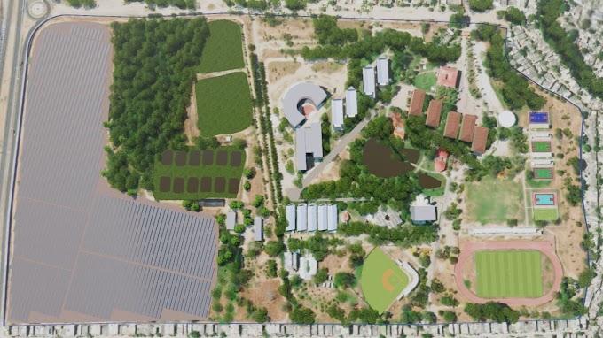 "Un parque solar, el mega proyecto de ""El profe Francisco"" para la Universidad del Magdalena"