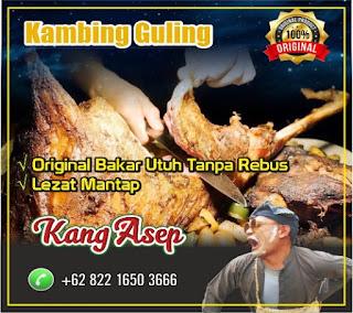 Pesta Kambing Guling, kambing guling