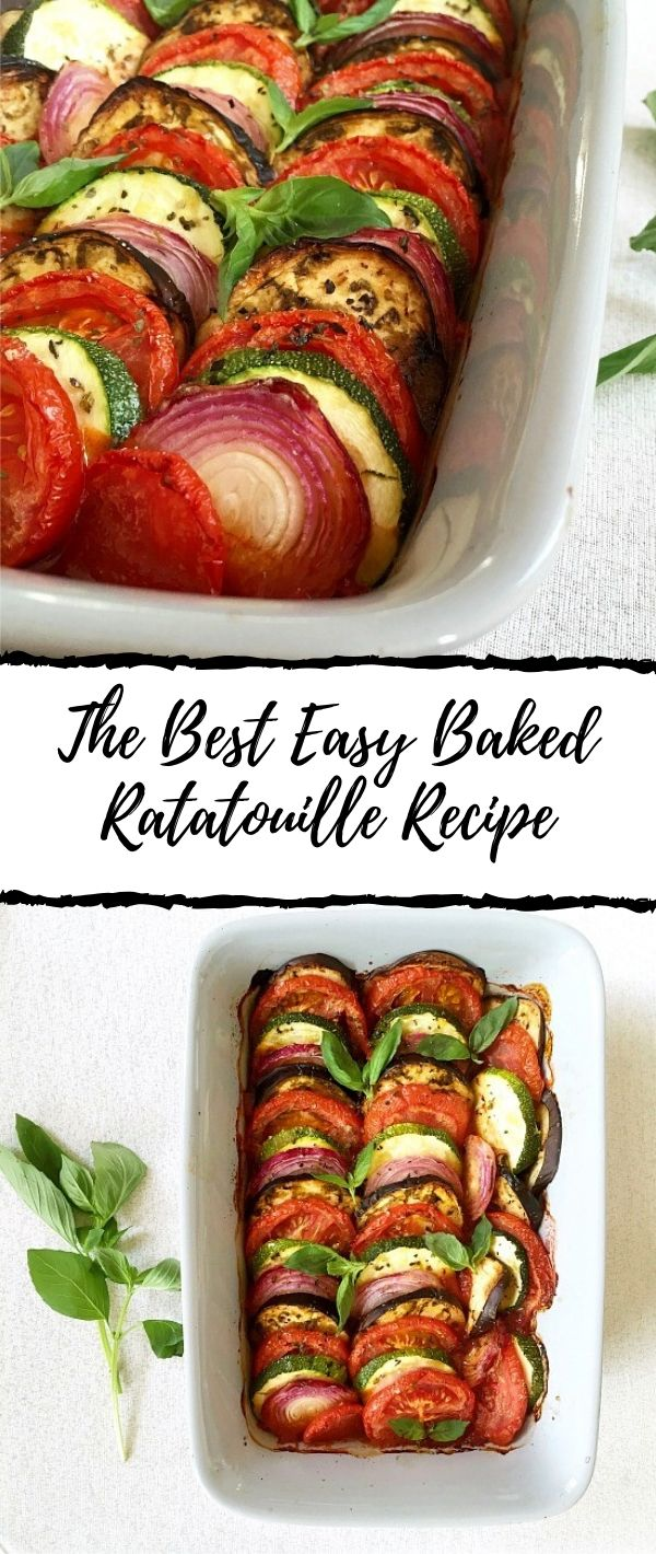The Best Easy Baked Ratatouille Recipe #The #Best #Easy #Baked #Ratatouille #Recipe Dinner Recipes Healthy, Dinner Recipes Easy, Dinner Recipes For Family, Dinner Recipes Vegan, Dinner Recipes For Two, Dinner Recipes Crockpot, Dinner Recipes Chicken, Dinner Recipes With Ground Beef, Dinner Recipes Date Night