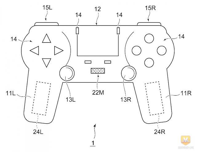 تسريب تصميم يكشف عدة خصائص قد تتواجد على يد تحكم جهاز PS5