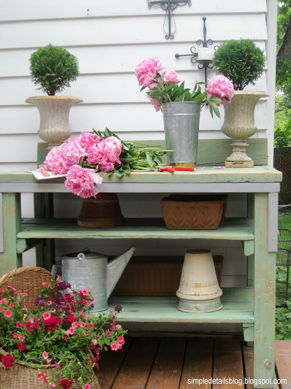 Simple Details Potting Bench Reveal