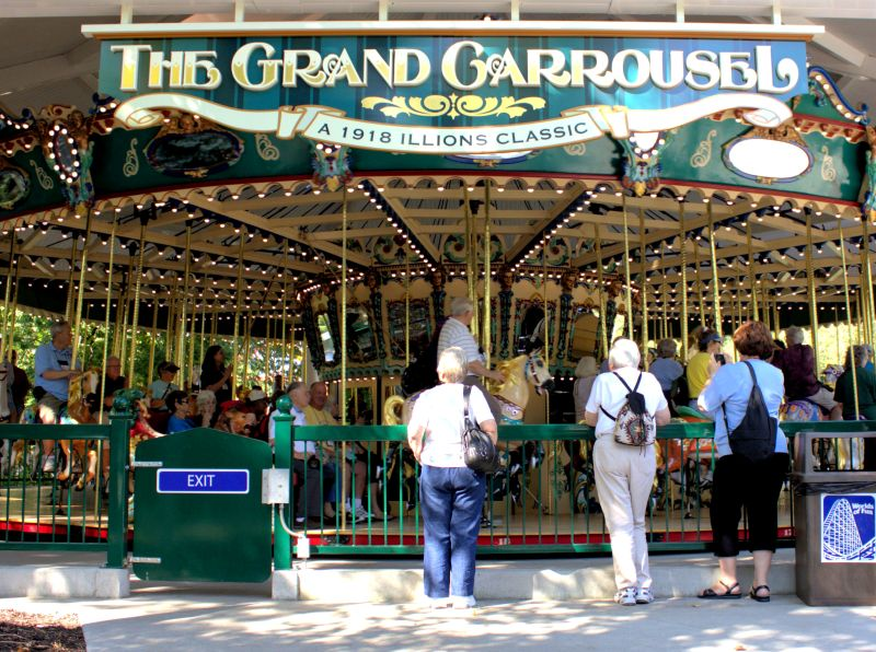 The most interesting amusement parks in the USA