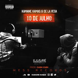 Kamane Kamas  & Valentino De La Vega - 10 De Julho (Prod. Cash Cudi)  ( 2020 )