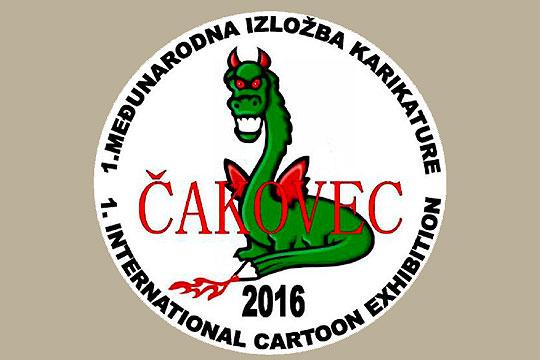 1. International Cartoon Exhibition Čakovec 2016