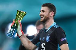 Unai Simon Ungkap Kunci Tepis 2 Penalti Timnas Swiss di  Euro 2020