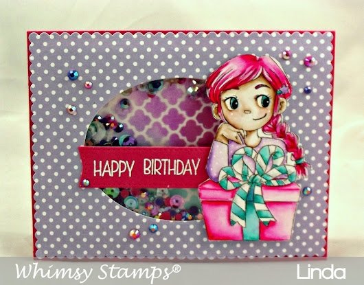 Whimsy Stamps - Pretty Lil Present