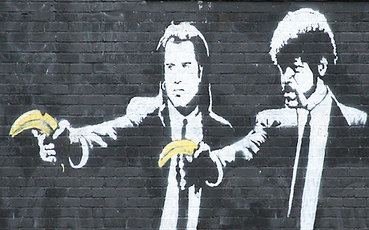 arte callejero pulp fiction