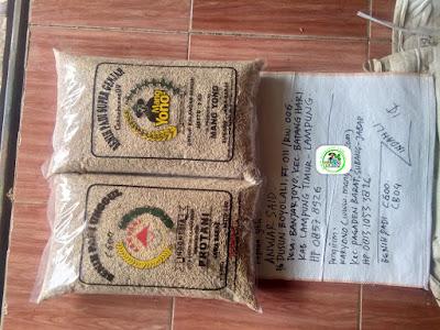 Benih Padi Pesanan    ANWAR SAID Lamtim, Lampung.    (Sebelum di Packing).