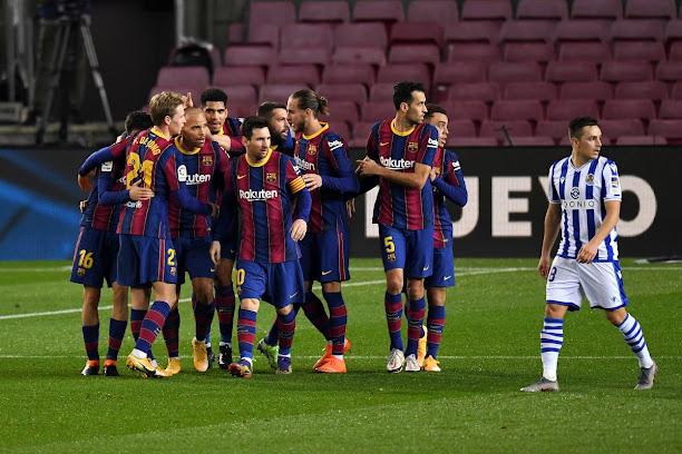 ماذا قالت الصحف الإسبانية عن فوز برشلونة على سوسيداد؟