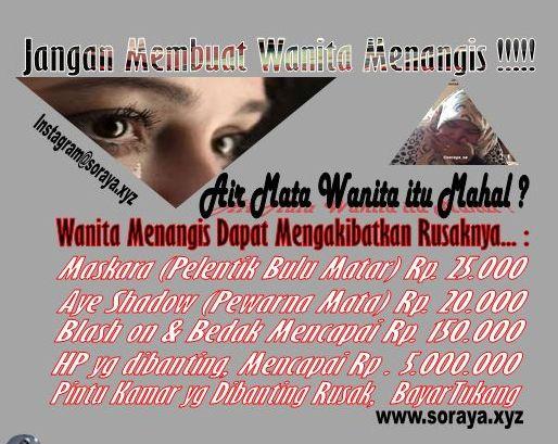 air mata wanita menangis mahal