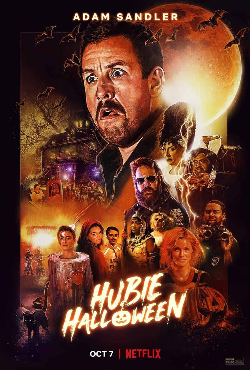 Netflix показал новый трейлер комедии «Хэллоуин Хьюби» с Адамом Сэндлером - Постер
