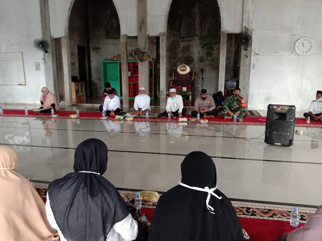 Syiar Islam Serta Terjalinnya Hubungan Silaturahmi Babinsa Ikut Majelis Taklim
