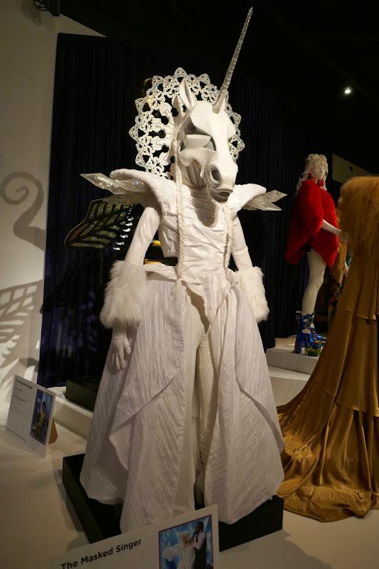 Tori Spelling Masked Singer unicorn season 1 costume
