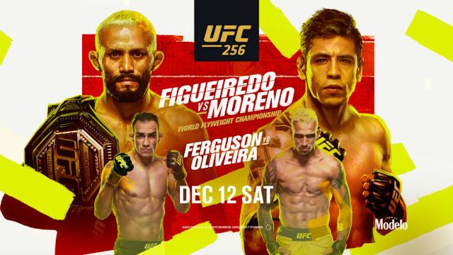 مشاهدة  نزال توني فيرغسون ضد تشارلز أوليفيرا بث مباشر UFC 256