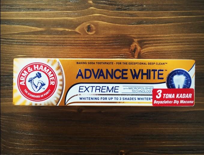 Advance White Diş Macunu Yorum (Gerçekten 3 Tona Kadar Beyazlatıyor mu?)