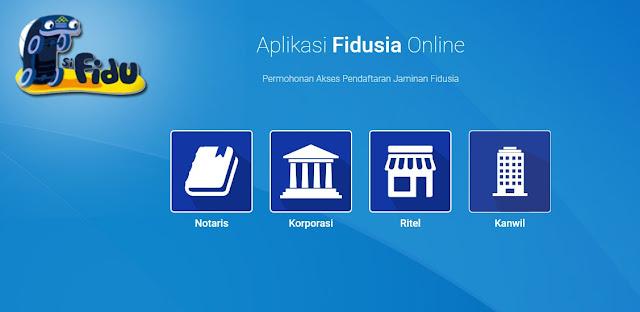 Mengenal Dan Panduan Aplikasi Fidusia Online 2019