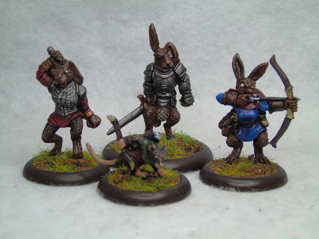 burrows and badgers rabbit royalist warband