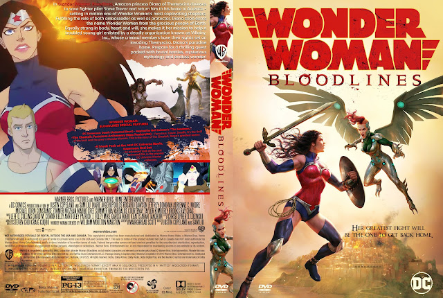 Wonder Woman: Bloodlines DVD Cover