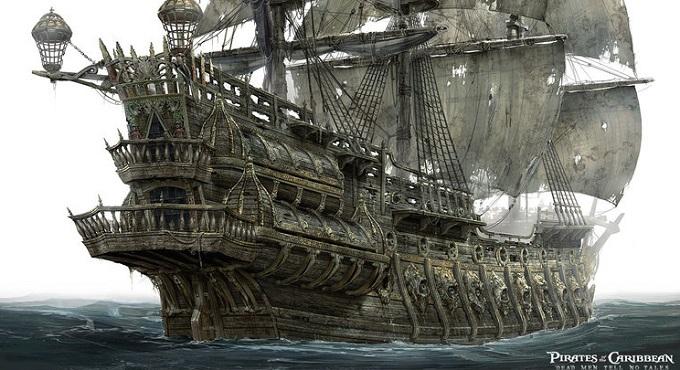 10 +1 Ξακουστά Καράβια του Φανταστικού