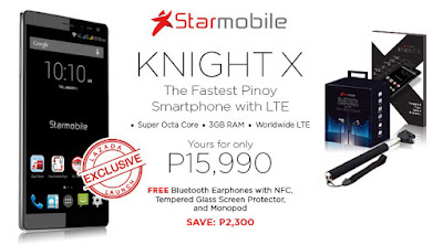 Lazada and Starmobile's Effortless Great Deals!