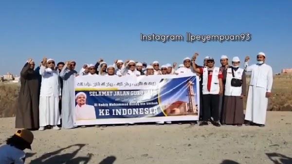 HRS Sudah Gelar Perpisahan, Abdul Chair Ramadhan: Sebentar Lagi Pulang