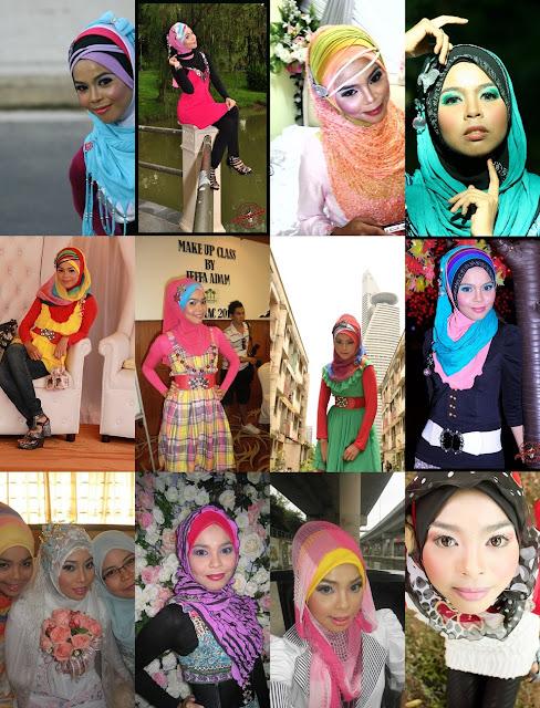 Gaya Hijab iena semasa tahun 2011 ketika berusia 26 tahun