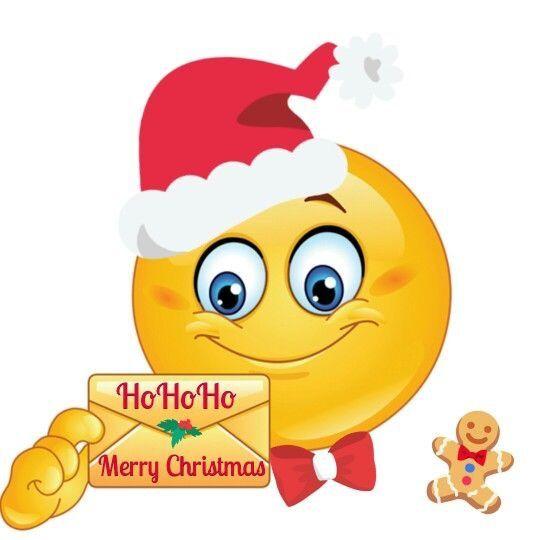 funny christmas emoji