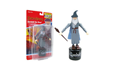 San Diego Comic-Con 2019 Exclusive The Lord of the Rings: Fellowship of the Ring Gandalf the Grey Wood Push Puppet by Entertainment Earth x Bif Bang Pow!