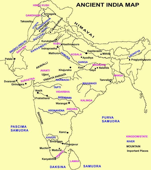 Map of ancient india and china edd284dd9eeb51885775ee13fce54b2d ancient india map1 publicscrutiny Images