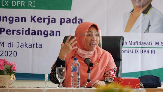 Anggota Komisi IX DPR RI Kurniasih Mufidayati