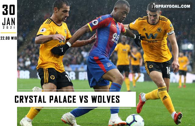 Prediksi Skor Crystal Palace Vs Wolves Sabtu 30 Januari 2021