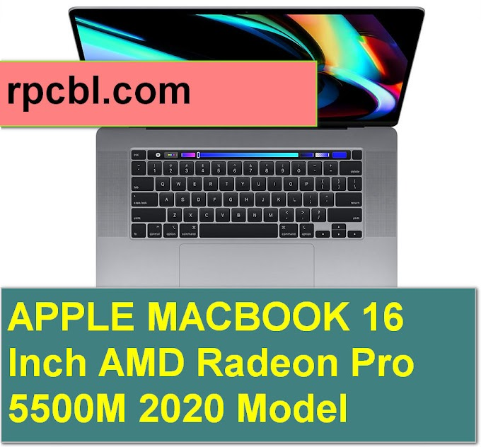 APPLE MACBOOK 16 Inch AMD Radeon Pro 5500M 2020 Model