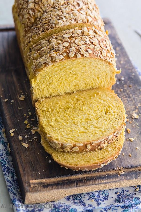 ¿Cansada de comer pan blanco? ¡yo también! ¡hagamos pan de batata!