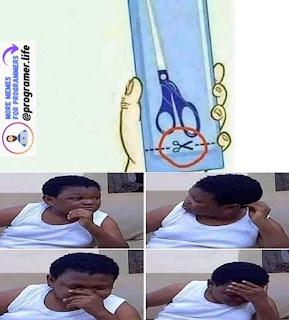 Scissors Meme