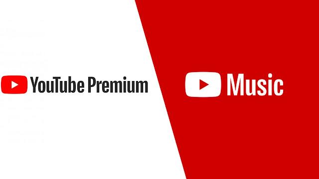 يوتيوب بريميم مع الموسيقى