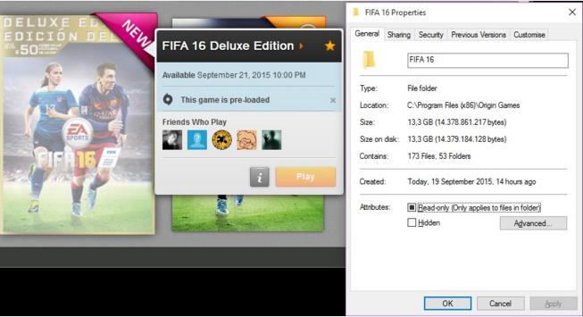 cara inject origin ke FIFA 16 versi pak tani