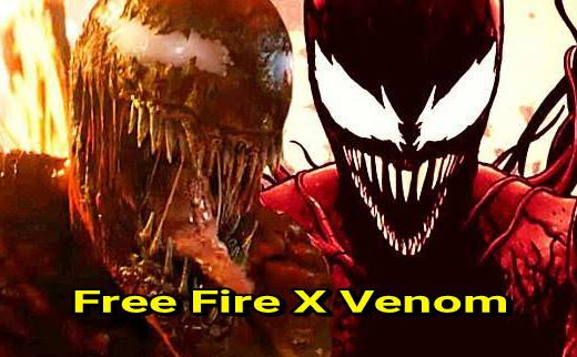 free fire (ff) x venom