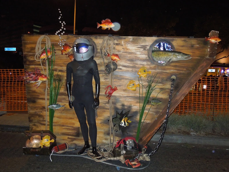 West Hollywood Halloween Carnaval deep sea diver costume