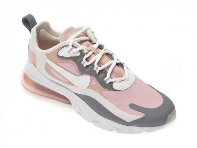 Adidasi originali dama NIKE roz, Air Max 270 React, din material textil