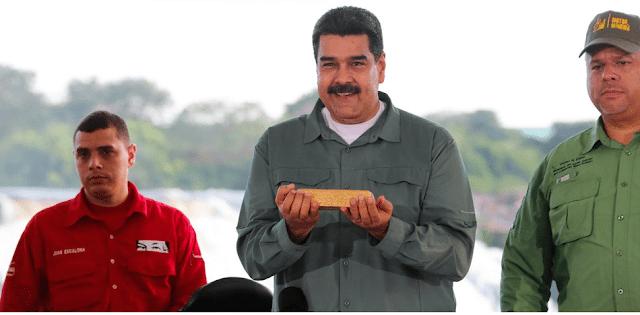 Venezuela perdió toneladas de oro por impago de deuda de US$ 1.700 millones