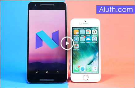 http://www.aluth.com/2016/06/android-n-vs-ios-10-comparison.html