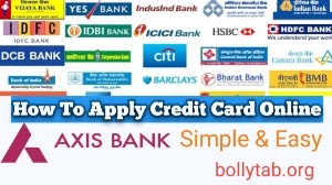 how To Apply Credit Card, credit card online Apply kaise kare, 3 easy steps for every Bank