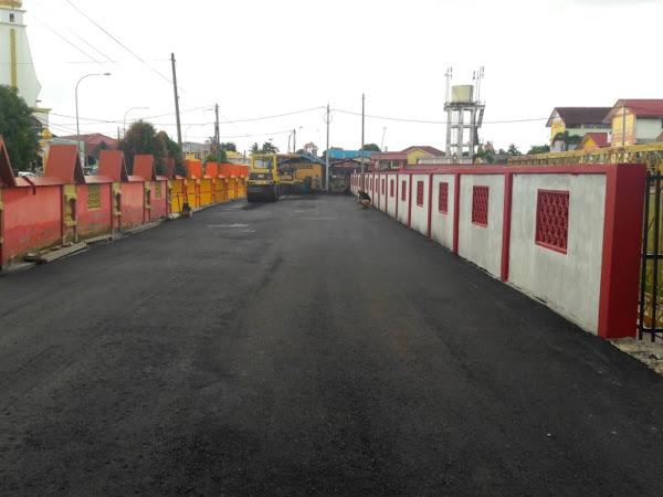 Kerja Membaiki Jalan & Resurface Jalan Pasir Puteh Kelantan