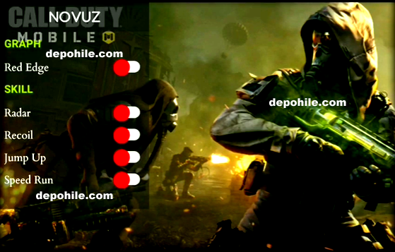 Call of Duty Mobile v1.0.15 Novuz Mod Radar, Speed Hileli Apk