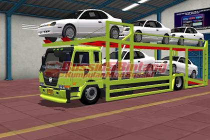 Mod Bussid Hino muatan Mobil mewah