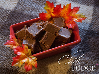 Chocolate Chai Fudge
